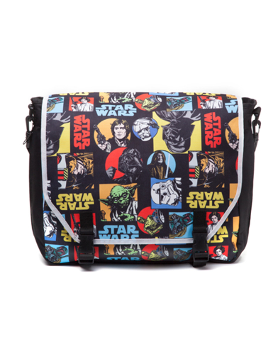 Torba na ramię Star Wars - Retro Comics - kieszeń na laptop