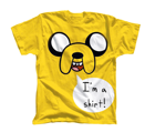 Koszulka męska Adventure Time T-shirt - Jake I'm a Shirt